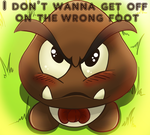 A Goomba Made for You by PattiethePentist