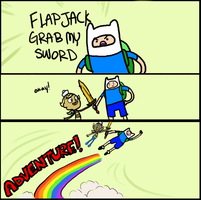 Misadventure Time by Flipalooza