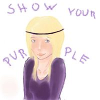 Show Your Purple by Papu-Product