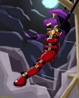 Shantae's Sleepsack Adventure by Plasma-dragon