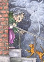 ACEO-Two Souls A'Searching by KootiesMom