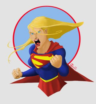 Supergirl - Angry by gkgaines