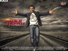 New Design .. Tamer Hosny by MohamedEssawyDesign