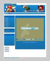Games on the Web: layout by enriii