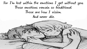 Traditional Emotions by TheEmotionalPoet
