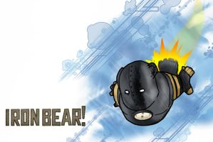 INVINCIBLE IRON BEAR by ultimate-dam