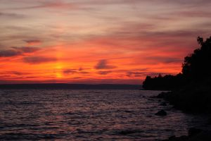 Sunset in Croatia by Azraelia