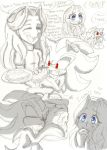 Our first week together .+Maria and Shadow+. by Xx-JungleBeatz-xX