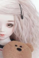 With Teddy by nathalye