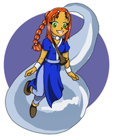 Starfire - A waterbender...? by LadyProphet