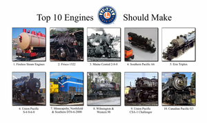 Top 10 Engines Lionel Should Make by 736berkshire