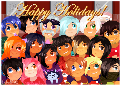 Happy Holidays from MyStreet by CubedCake
