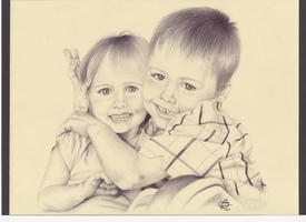 Biro commission - Children 2 by Astral-Dragon
