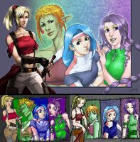 DELVE girls in time by Del-Borovic
