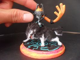 Mini Twilight Princess Midna by JOPUTAPELIRROJO