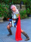 Lightning striking pose by Angiepureheart