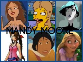 Mandy Moore Characters by PhantomEvil