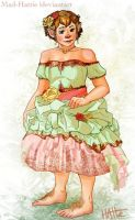 Billa Baggins, Flowers and Ribbons by Mad-Hattie