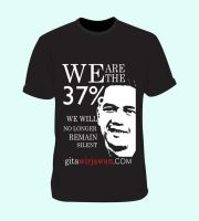 We Are The 37% T-Shirt by martinharris