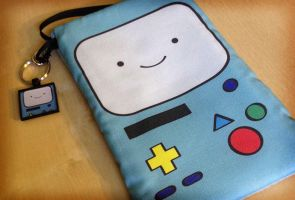 BMO Inspired Adventure Time Phone Case Mini Purse by Monostache