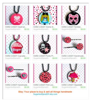Punky Necklaces and Hair Pins by wickedland