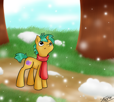 First snow fall by vigilantefreak