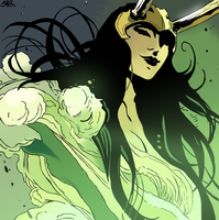LadyLoki-colored by HarvesterOfDreams