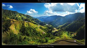 Banaue Rice Terraces by inventionary