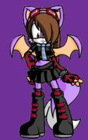 Me as a Sonic Character by XxPoisonlollypopxX