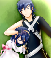 Father and Daughter by Darkie4Eva