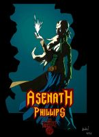 Hellboy RPG: Asenath Phillips by Lucius-Ferguson