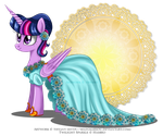 Princess Twilight Sparkle by selinmarsou