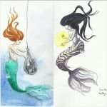 Twin Mermaids by Excelicious