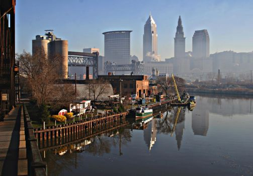 Cleveland, Ohio by daveant
