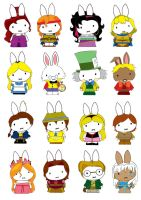 Generation Miffy-Disney Years2 by likimonster