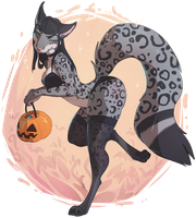 [YCH] Halloween Candy by Lushminda