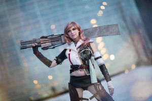 Lightning - Final Fantasy XIII: Lightning Returns by EveilleCosplay
