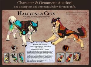Character Auction - Halcyone and Ceyx - Closed