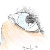 Fast Eye Sketch by Munchy-Bunni