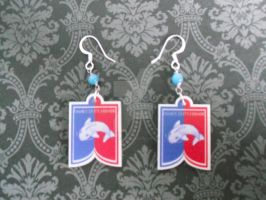 GOT House Tully Earrings by AriesNamarie