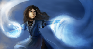Katara by Eldemorrian