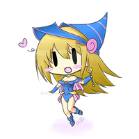 CandyArts' Dark Magician Girl chibi by Candy-Arts