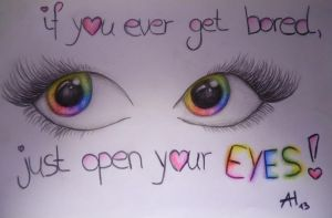 open your eyes ! by Anntax3