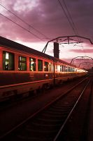 Runaway Train by drefeyja