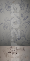 Sketchdump-part1 by Husky-Foxgryph