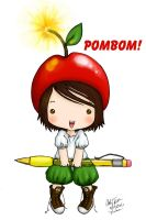 POMBOM, EXCLAMATION MARK by bommie