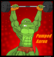 AT-Pumped Aaron by Vnm-GarGoyle