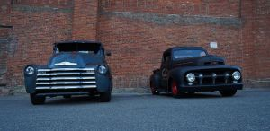Chevy vs Ford by tundra-timmy