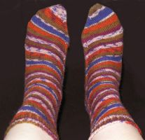 Skew socks -- tops by SuncatStudio