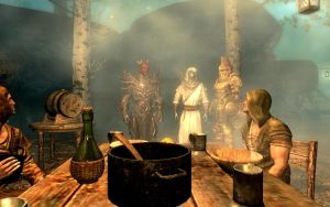 Skyrim Photo Journal 2: Night of Debauchery by Czar-Ino-Kaze